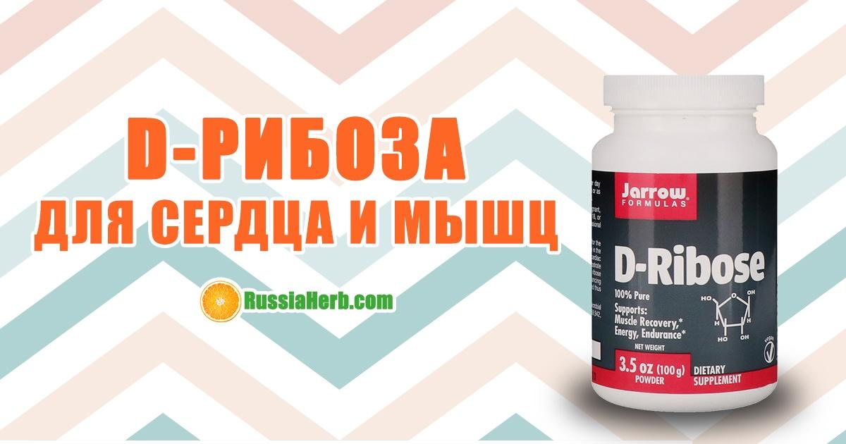 D-Рибоза: полезные свойства